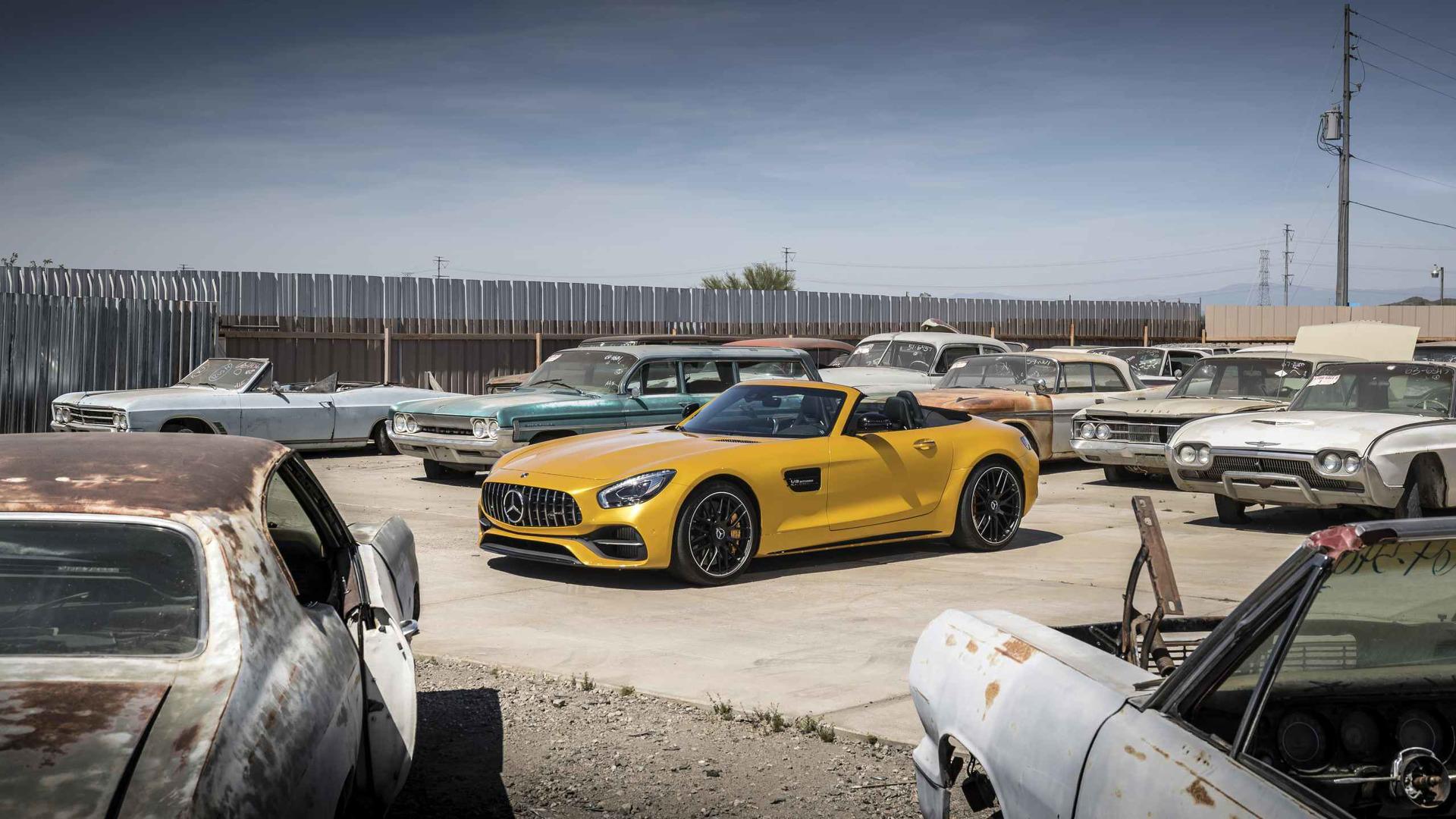 2017 Mercedes AMG GT Özellikleri ve Görselleri Yayınlandı