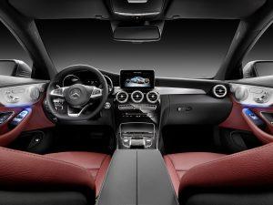 2017-mercedes-c-coupe-22-1 iç tasarım direksiyon