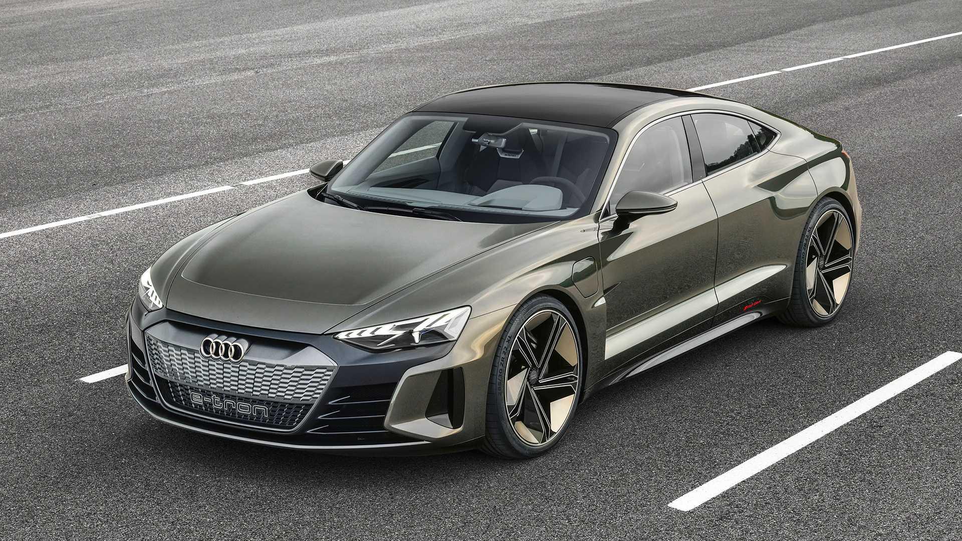 2019 Audi e-tron GT konsepti