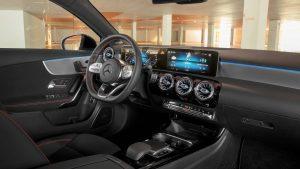 2019-mercedes-benz-a-class-sedan iç tasarım direksiyon
