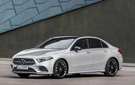 2018 Mercedes A-Serisi L Sedan görücüye çıkıyor.