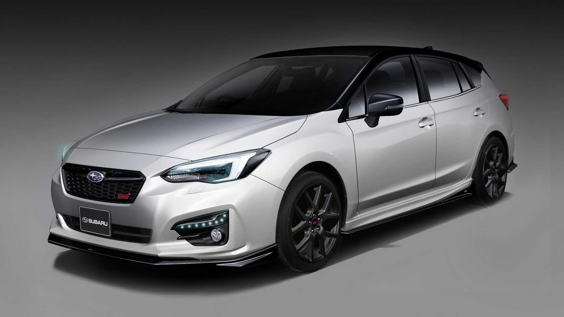 Subaru, 2019 Forester STI ve Impreza STI konseptleri