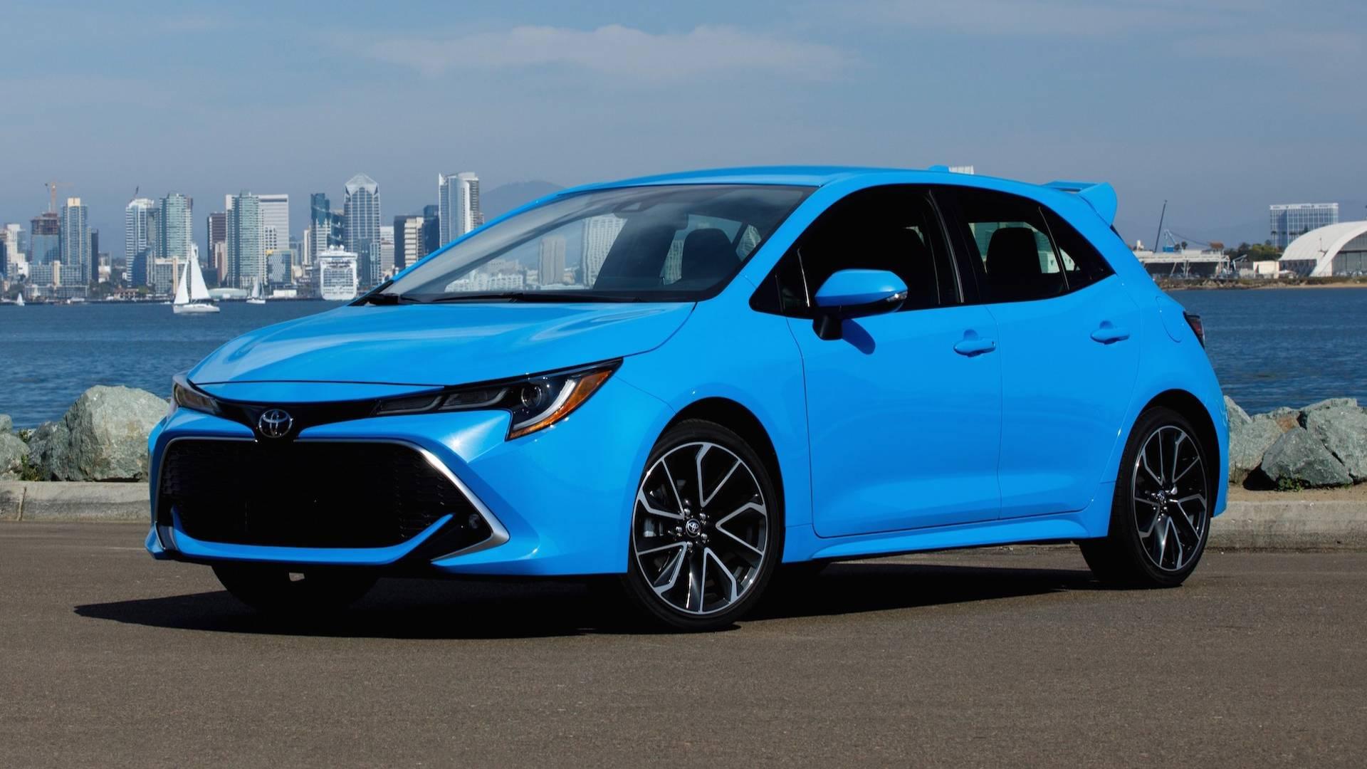2019 Toyota Corolla Hatchback (50 başarılı yıl ve 44 milyon adet satış)