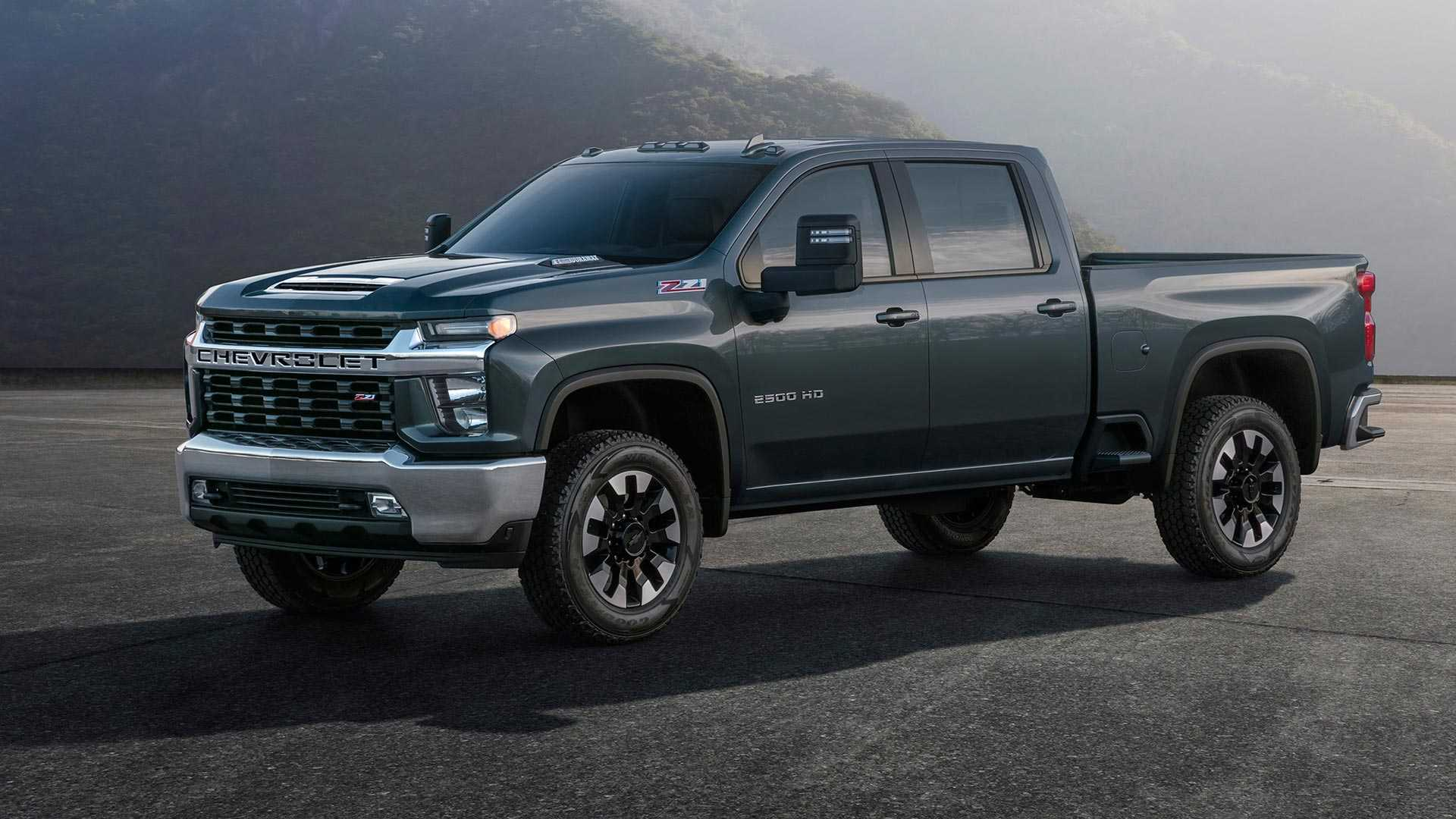 2019 Chevrolet Silverado HD resmi görüntüleri