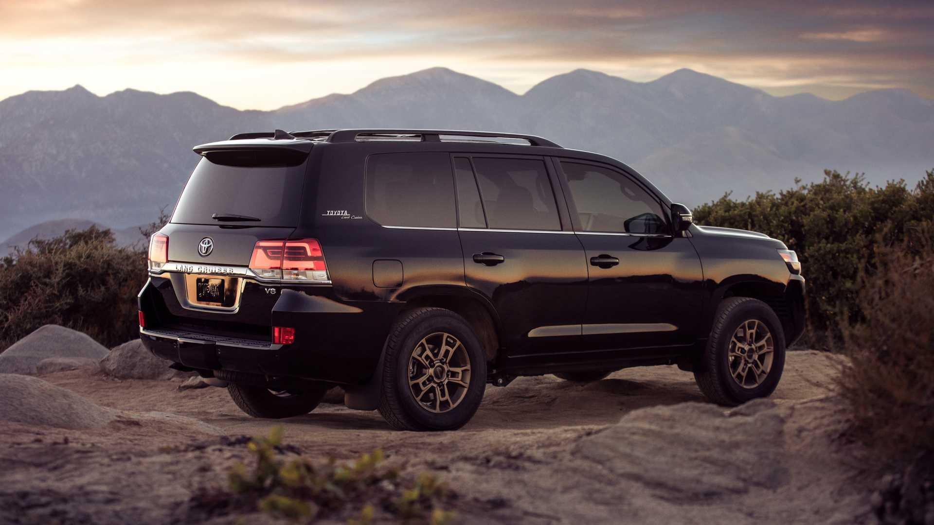 Toyota Land Cruiser ve Lexus LX 2020