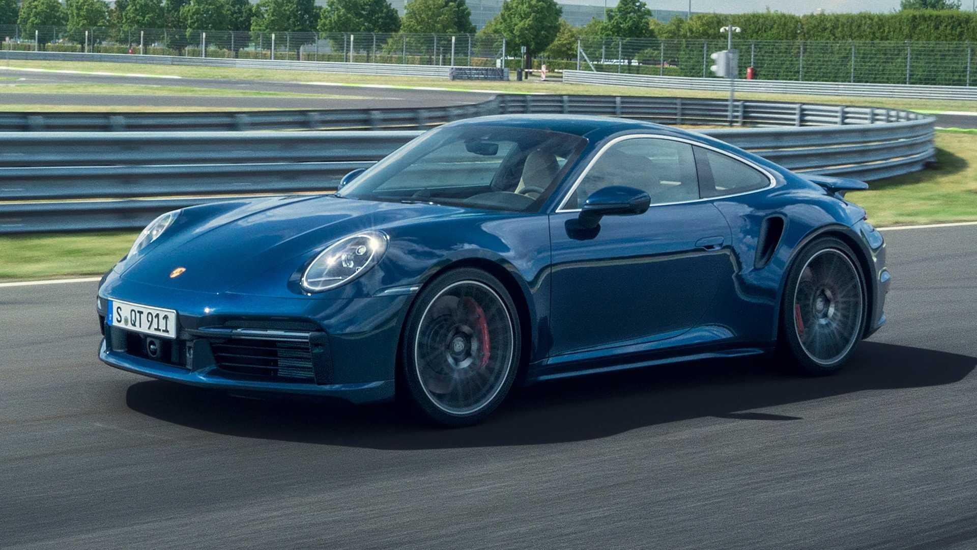 2021 Porsche 911 Turbo 580 bg güçle geldi