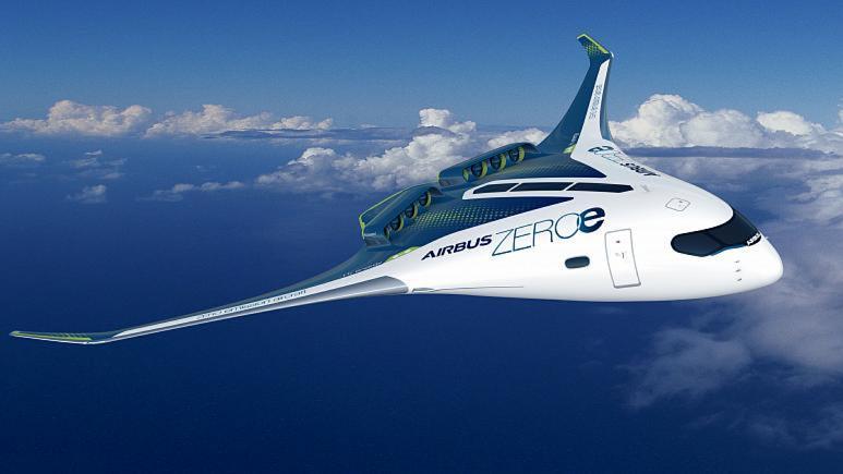 Airbus hidrojenle çalışan sıfır emisyonlu yolcu uçağının 2035'te havada olmasını hedefliyor