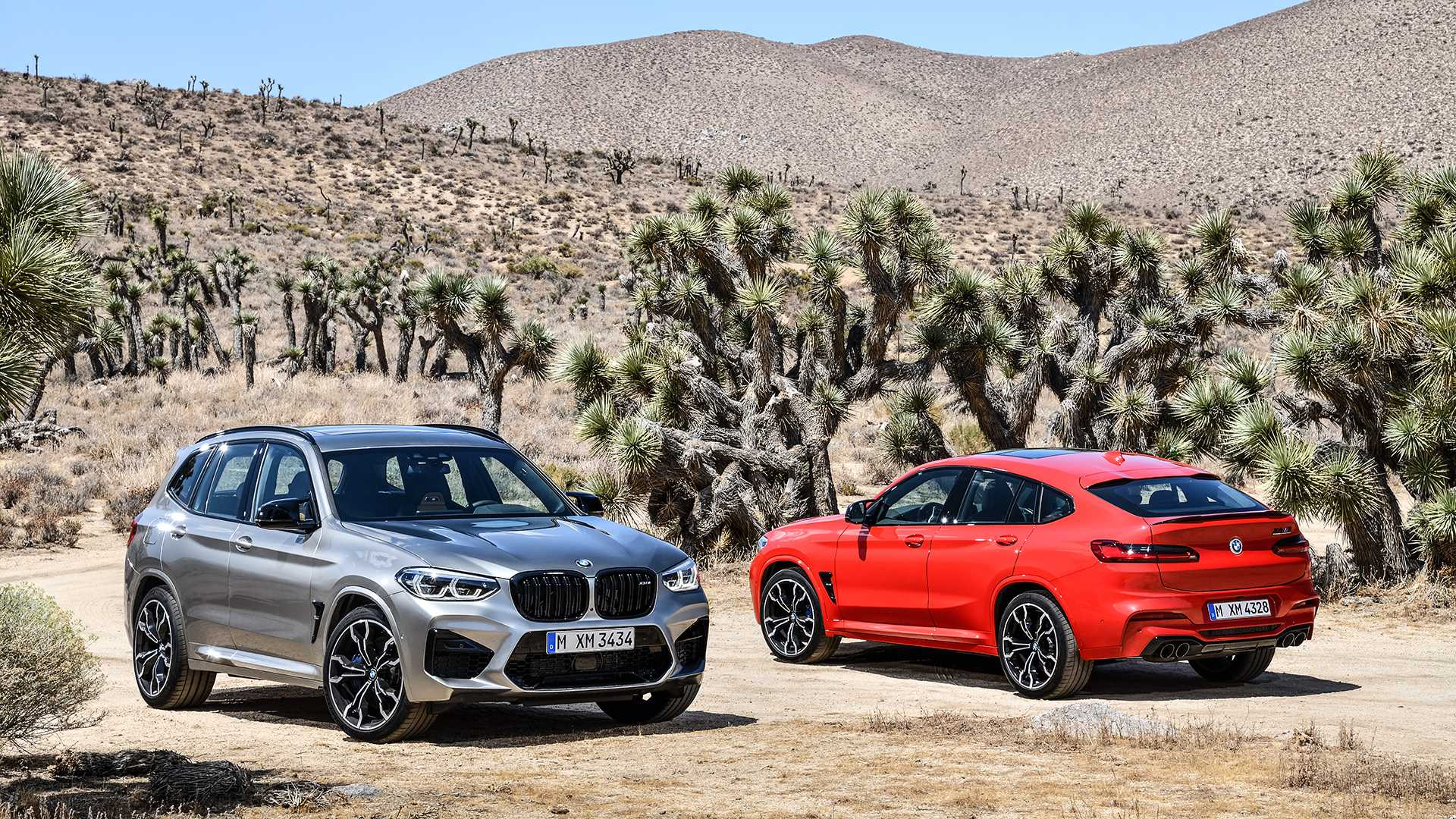 BMW X3 M ve BMW X4 M
