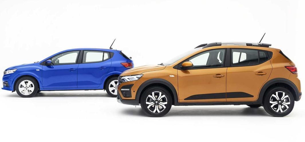 2021 Dacia Sandero ve Sandero Stepway