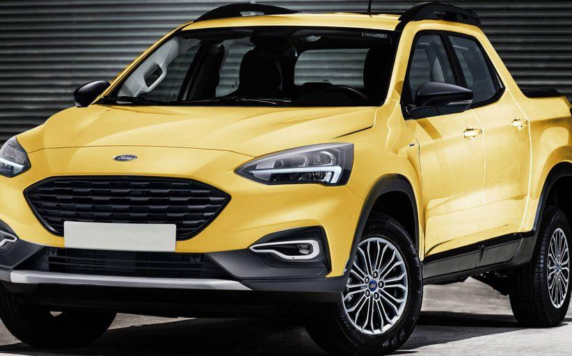 Ford, Focus tabanlı pick-up üzerinde çalışıyor