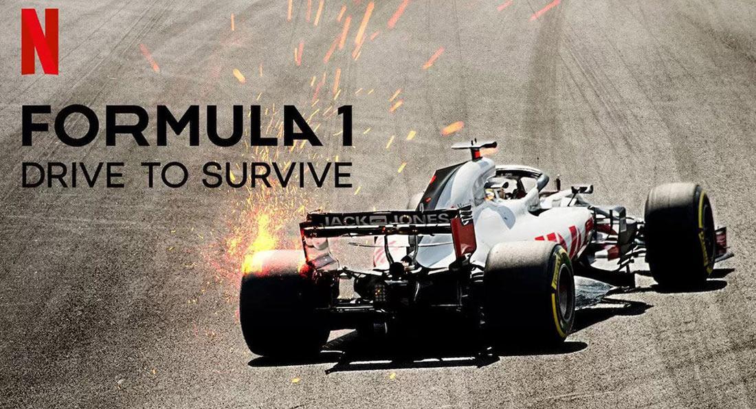 Formula 1 Drive To Survive için 4