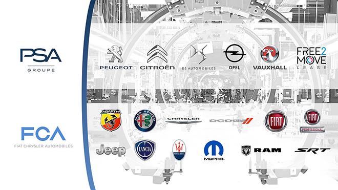 Fiat-Chrysler ve Peugeot-Citroen ortaklığı yeni bir isim doğuruyor