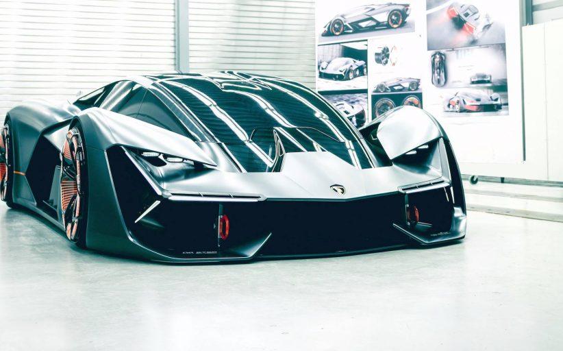 Lamborghini'nin hibrit hiper otomobili