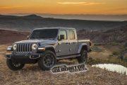 2019 Jeep Gladiator'ın fotoğrafları