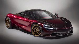 mclaren-at-salon-prive-and-blenheim-palace-classic-supercar kırmızı