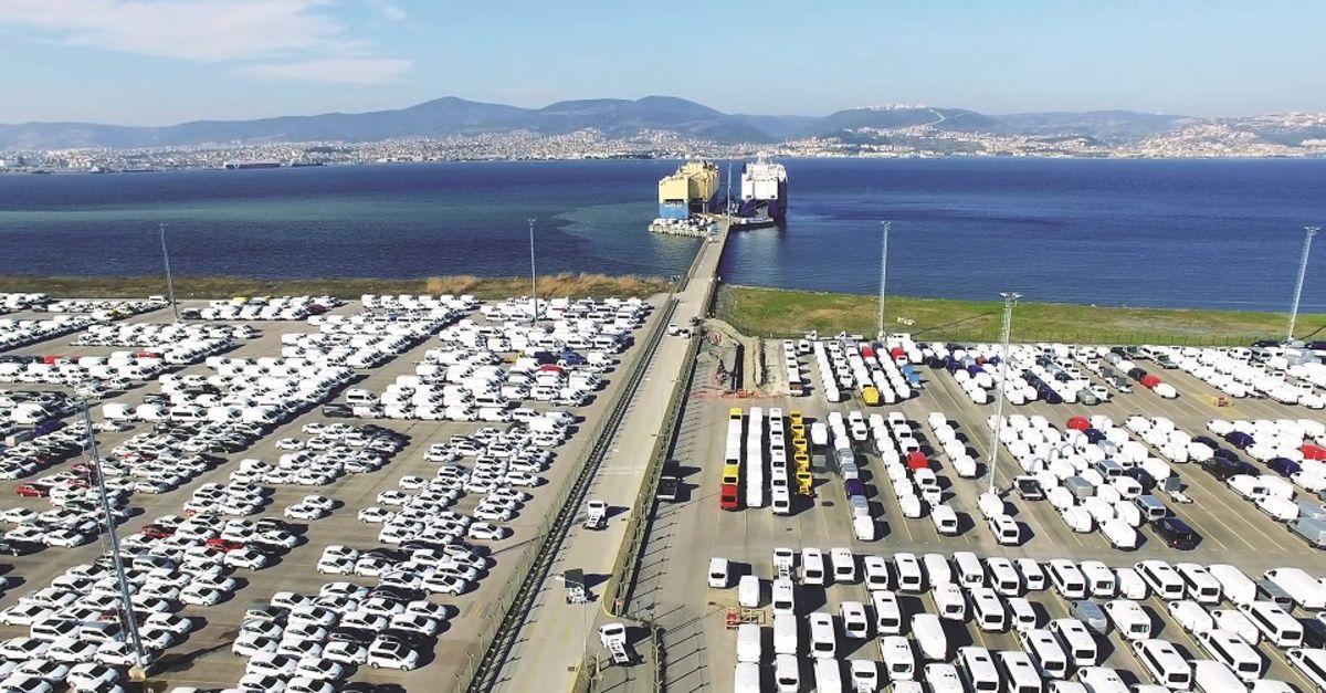 Otomobil ihracatı ilk 7 ayda yükseldi