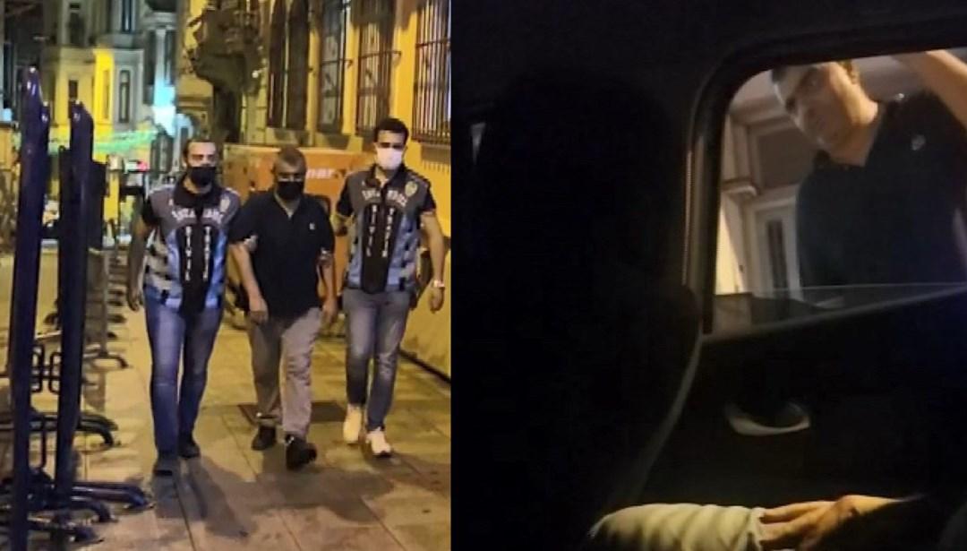 Polisten otopark parası isteyen değnekçi suçüstü yakalandı