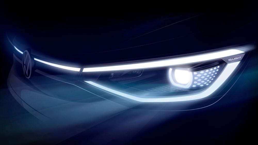 Volkswagen'in ilk elektrikli SUV'u ID.4'ün seri üretimine başlandı