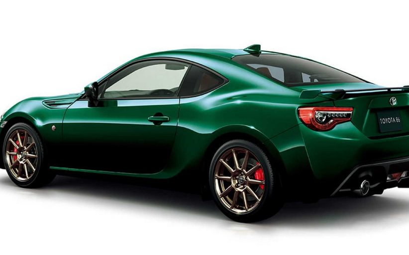 Toyota GT86'ya British Green Limited özel verisyonu